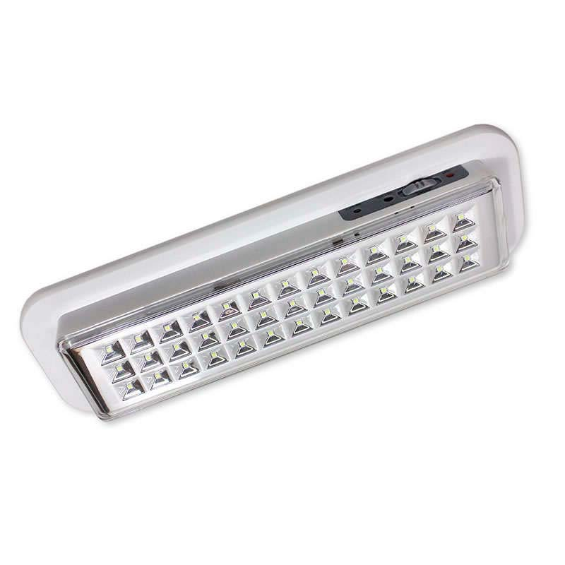 LED emergency lighting EMERLUX F310 ceiling surface, Cool white, Regulable